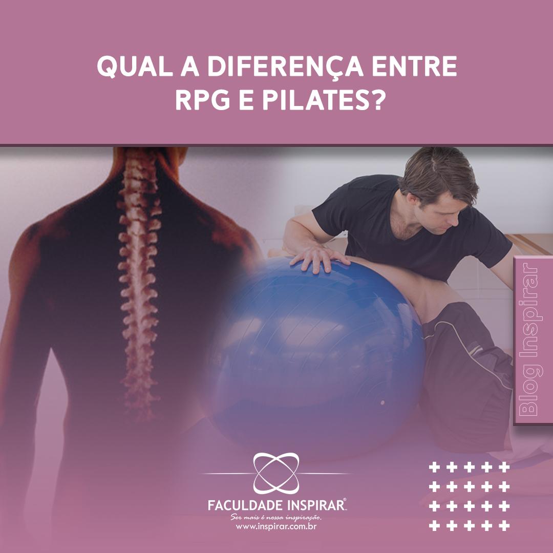 diferença entre rpg e pilates