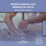 terapia manual nas hérnias de disco